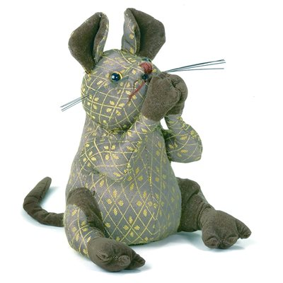 DORA MOUSE Sitting Animal Paperweight