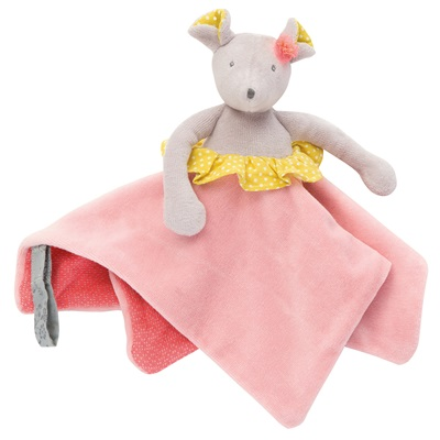 MOULIN ROTY CHILDRENS MOUSE COMFORTER