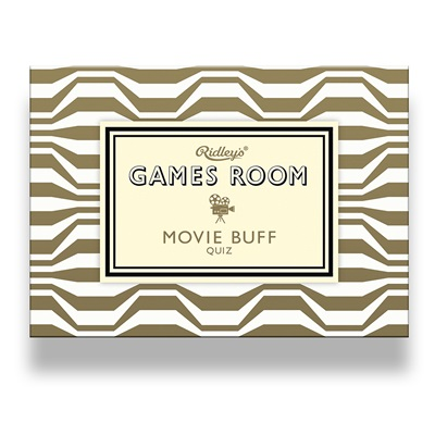 MOVIE BUFF METALLIC Quiz Game