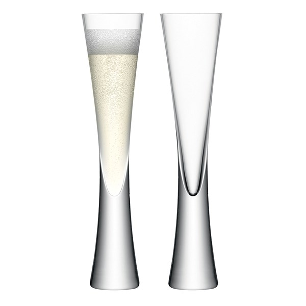 LSA International Moya Champagne Flutes Set of 2