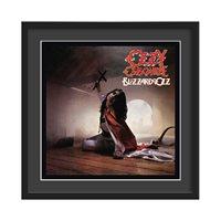 OZZY OSBOURNE FRAMED ALBUM WALL ART in Blizzard of Oz Print  Large