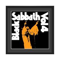 BLACK SABBATH FRAMED ALBUM WALL ART in Vol 4 Print  Large