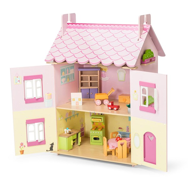 Le Toy Van My First Dream House Dolls House with Furniture
