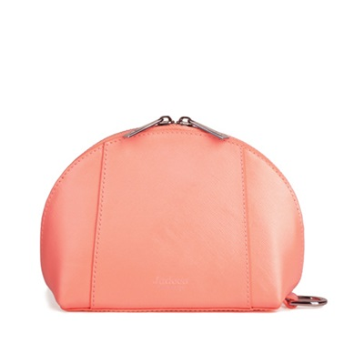 GILLAN Fashion Cosmetic Bag Phone Charger in Neon Orange