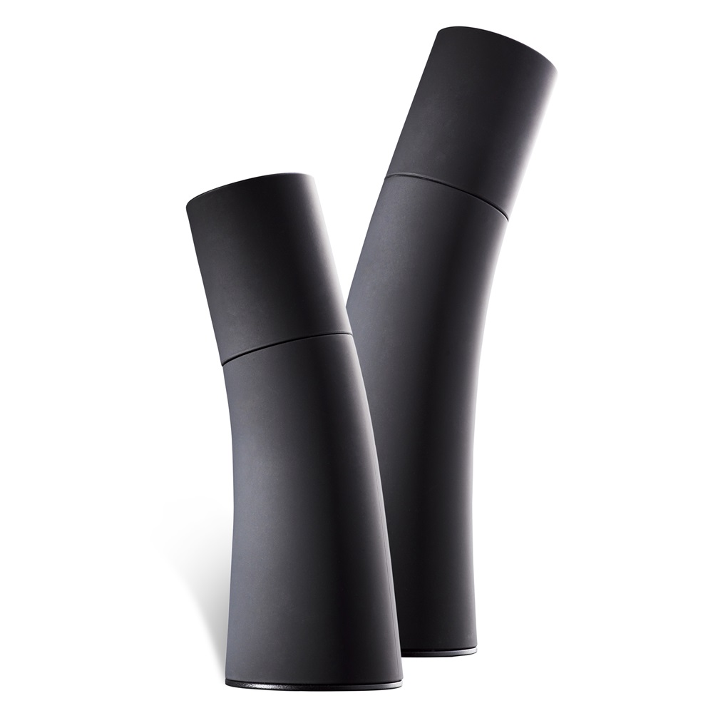Salt pepper mill by nuance kitchenware cuckooland Funky salt and pepper grinders