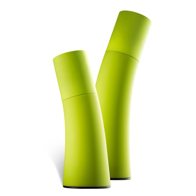 SALT & PEPPER GRINDERS in Green Ceramic by Nuance