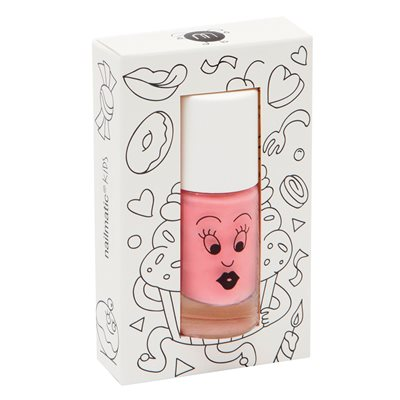 NAILMATIC KIDS WASH OFF NAIL POLISH in Cookie Pink