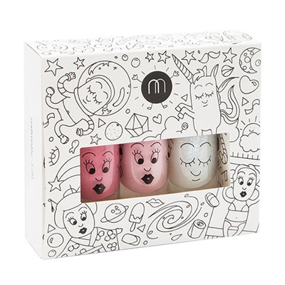 NAILMATIC KIDS WASH OFF NAIL POLISH GIFTSET in Cosmos Style