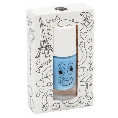 NAILMATIC KIDS WASH OFF NAIL POLISH in Gaston Blue