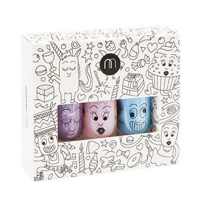 NAILMATIC KIDS WASH OFF NAIL POLISH GIFTSET in Party Style