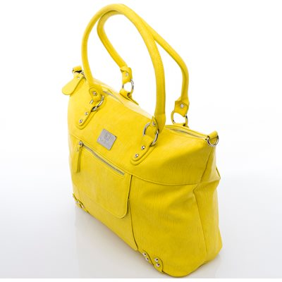 NOVA HARLEY DIVINE CHANGING BAG in Yellow