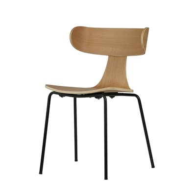 Form Wooden Dining Chair in Natural by Be Pure Home