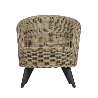 Sara Rattan Armchair by Woood
