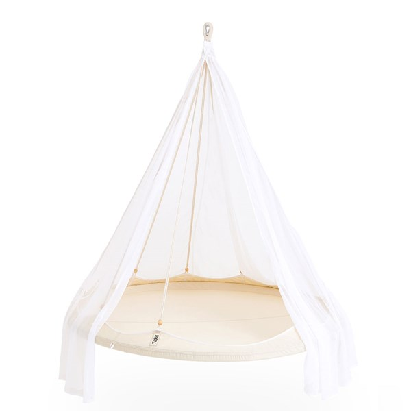 TiiPii Hammock Bed in Natural White