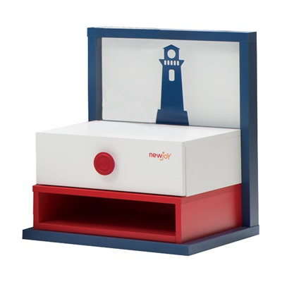 CHILDREN'S NIGHT STAND in Nautica Design