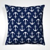 Blue and White Beach Themed Cushions
