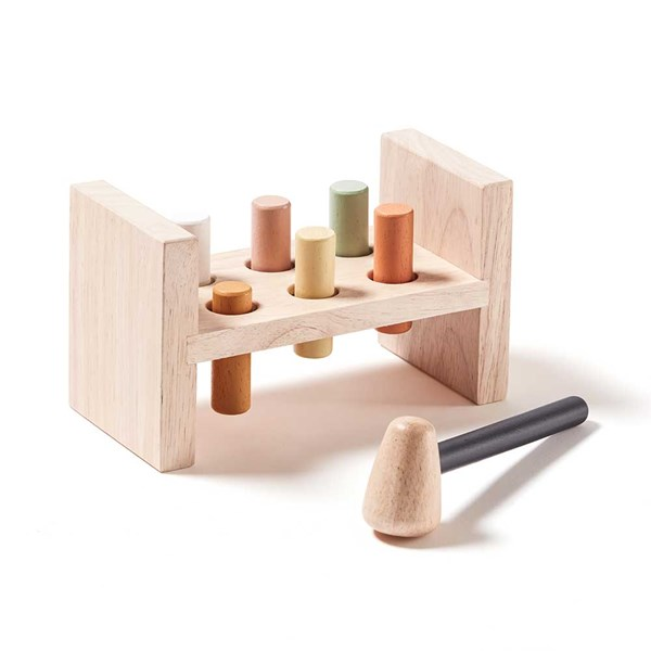 Neo Wooden Activity Hammer Bench Toy