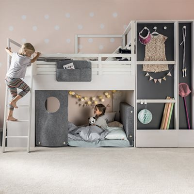 NEST SCREEN FOR CABIN BED in Grey