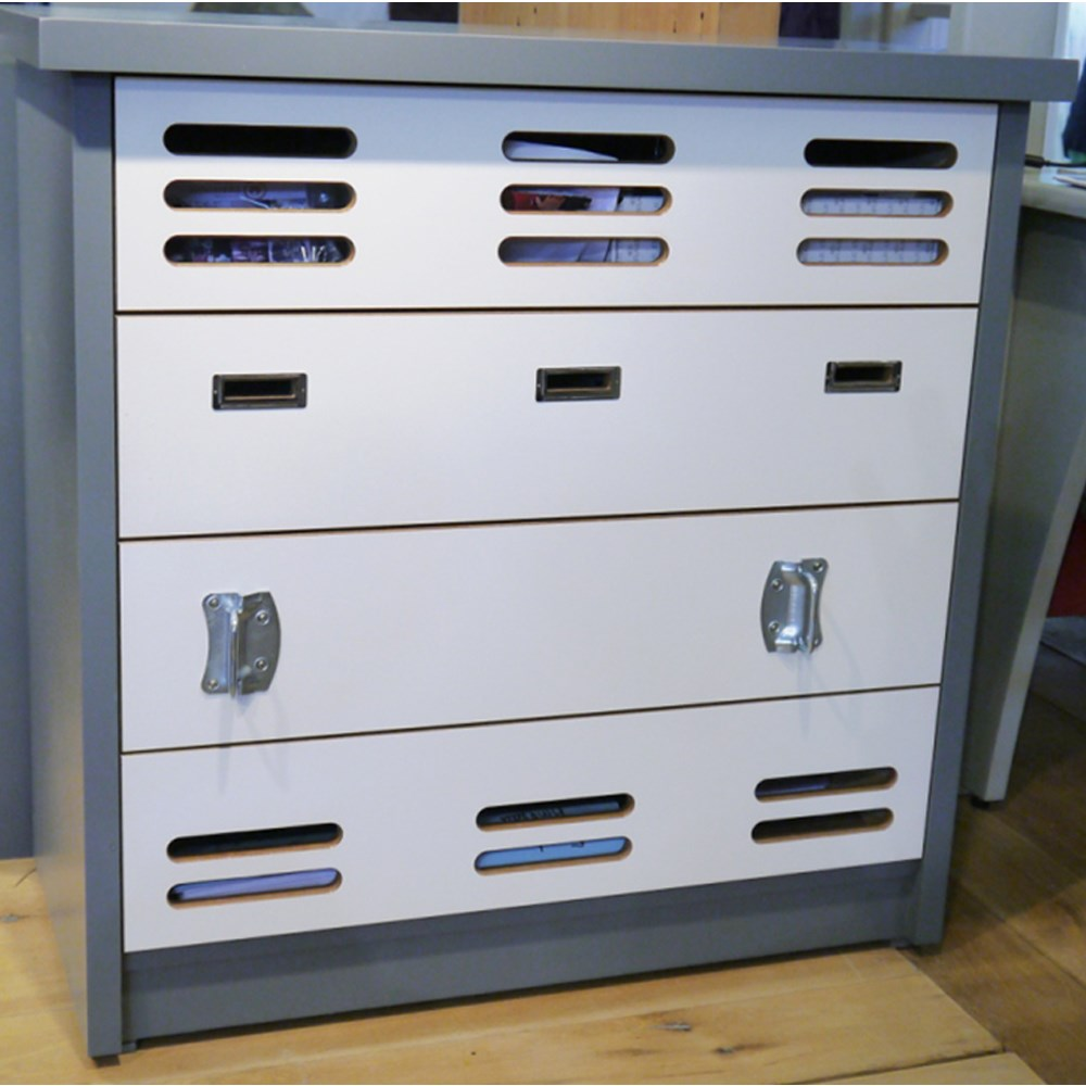 New Bookcase Toy Box White Finish Bedroom Playroom Child: Mathy By Bols Kids Bedroom Chest Of Drawers In New Worker