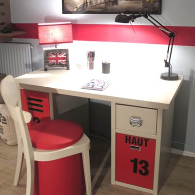 Mathy by Bols Kids Bedroom Desk in New Worker Design