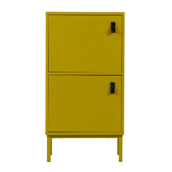 Bright Yellow Funky Cabinet