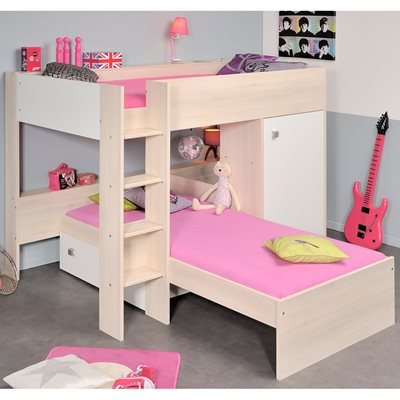 PARISOT NINETY BUNK BED in White