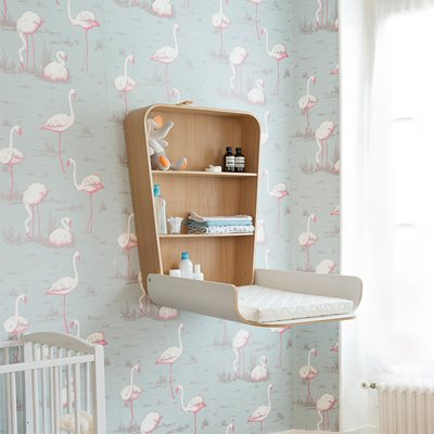NOGA BABY CHANGING TABLE in Gentle White