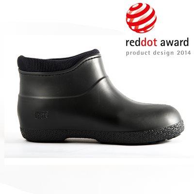 NORDIC GRIP Non Slip Boots in Black