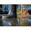 Black Unisex Waterproof Ankle Boots