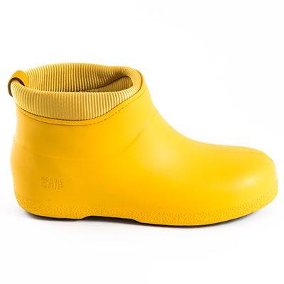 NORDIC GRIP Non Slip Boots in Saffron Yellow