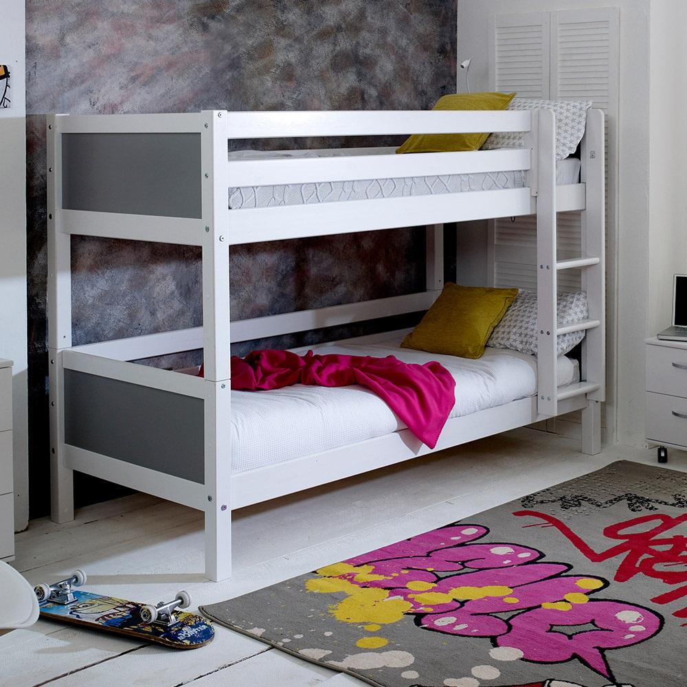 Flexa Nordic Kids Bunk Bed 1 In White Kids Avenue