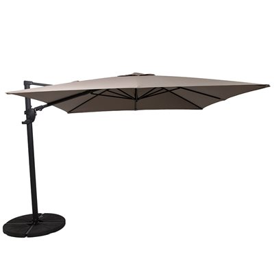 NORFOLK DELUXE CANTILEVER PARASOL in Taupe