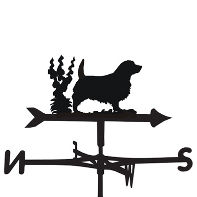 WEATHERVANE in Norfolk Dog Design