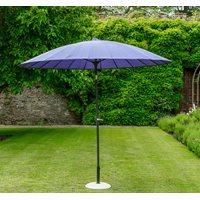 Product photograph showing Geisha Garden Parasol In Purple
