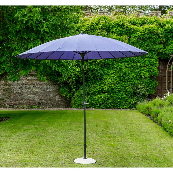 Purple Garden Outdoor Parasol