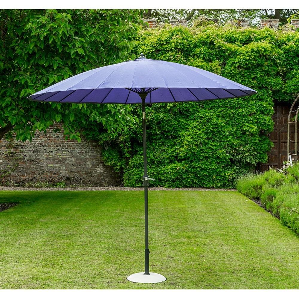 Geisha Garden Parasol In Purple - Norfolk Leisure | Cuckooland