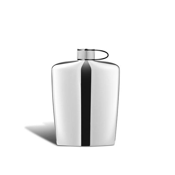 Nuance Hip Flask in Stainless Steel