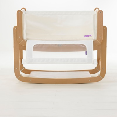 Well known Snuzpod 2 3-In-1 Bedside Crib Including Mattress In Natural  TQ93