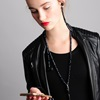 Quirky Fashion Headphones Necklace