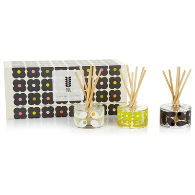 Orla Kiely Home Mini Reed Diffuser Gift Set