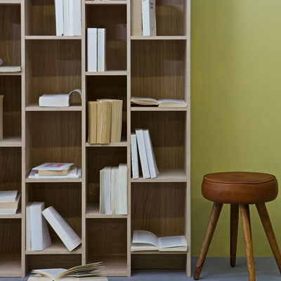 Expand Cabinet & Bookshelf in Oak Veneer by Woood