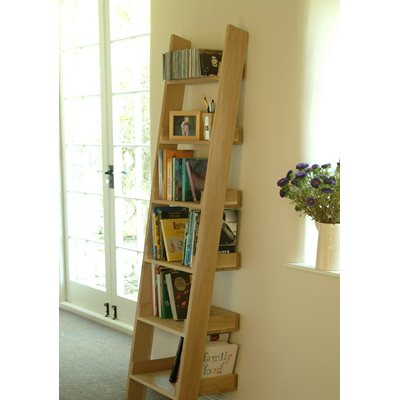 OAK SHELF LADDER