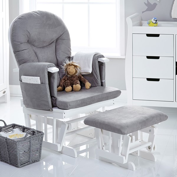 Obaby Reclining Nursing Chair and Stool
