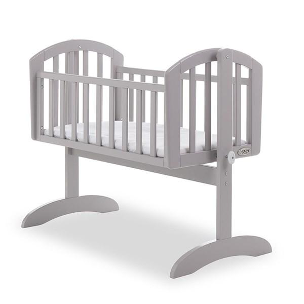 Obaby Sophie Swinging Crib in Warm Grey