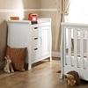 Luxury White Nursery Chest of Drawers