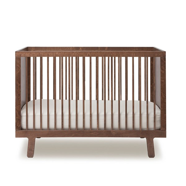 Oeuf Sparrow Cot Bed in Walnut