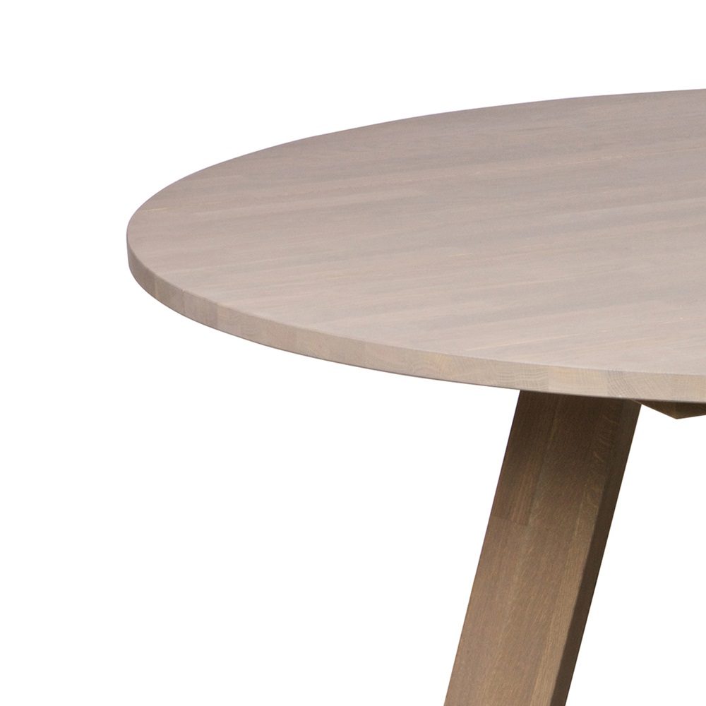 Rhonda Round Dining Table in Oiled Oak - Dining Tables | Cuckooland