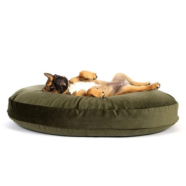 Laboni Luna Lounge Velvet Dog Bed in Various Colours