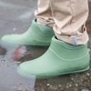 Olive Green Ankle High Waterproof Welly Boots