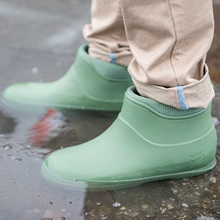 Olive-Green-Wellies-Nordic-Grip-Wets-in-Puddle.jpg